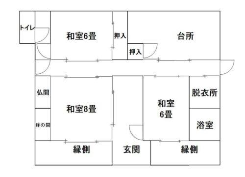 東広島市B21-005間取り図