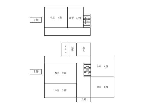 (物件1)物件番号53 間取り図