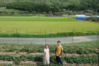 やってみないと始まらない。 新しい環境でも夫婦力を 合わせて、自然農法を成功させたい。