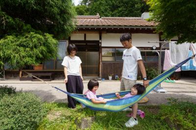 田舎暮らしの実現に踏み出せたのは、これからの不安より、楽しみを考えたから。 家族の笑顔も増えました。